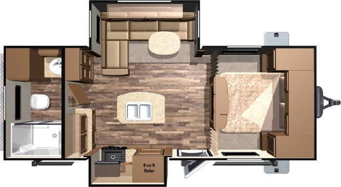21ft floor plan