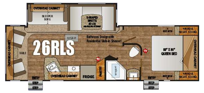 26ft floor plan