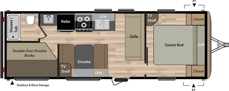 28ft floor plan